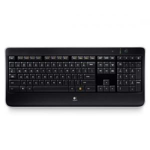 Tastatura Logitech K800 Wireless Black