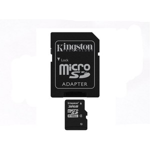 Card Kingston Micro SDHC 32GB Clasa 4 + adaptor SD SDC4/32GB