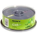 CD-R blank, 48x, 700MB, 25 buc/pachet