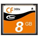 Compact Flash 300x 8GB TG008G2NCFIA