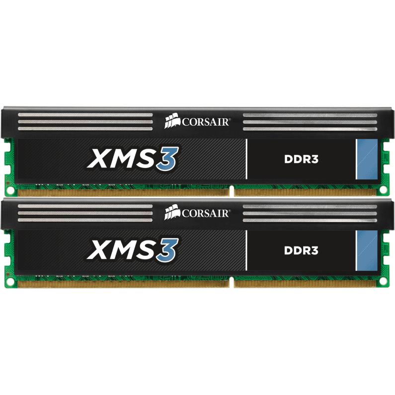 Memorie XMS3 2x4GB 1600MHz DDR3 CL9 thumbnail