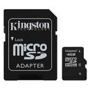 Micro SDHC 4GB Clasa 4 + adaptor SD SDC4/4GB