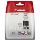 Consumabil Canon Cartus CLI551 Multipack Blister