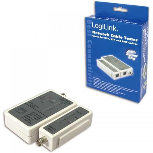 Tester cablu RJ45 si BNC WZ0011