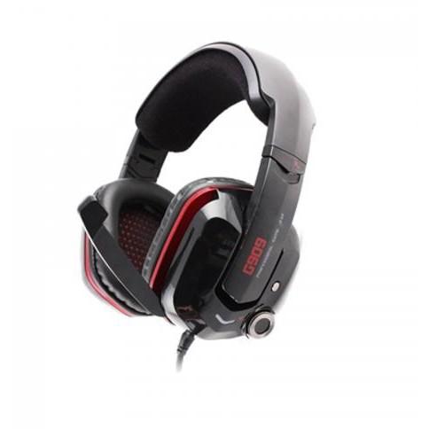 Casti Gaming Gaming Over-head 7.1 G909 Black