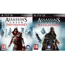 Pachet PS3 Assassins Creed Revelations + Brotherhood
