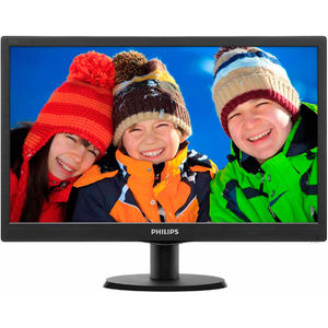 Monitor Philips 193V5LSB2/10 18.5 inch Black
