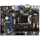 Placa de baza MSI H81M-P33 Intel LGA1150 mATX
