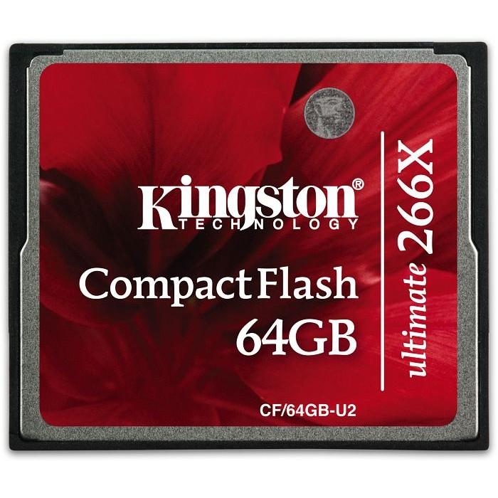 Card Compact Flash Ultimate 266x 64gb Cf/64gb-u2