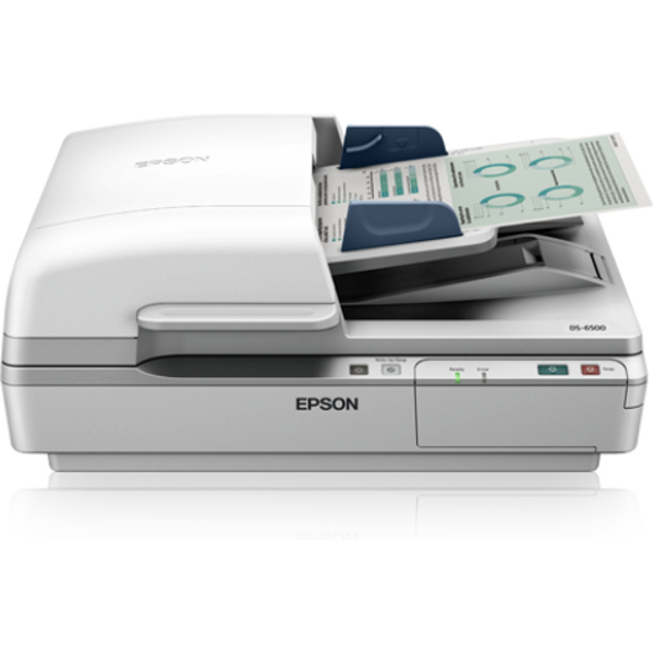 Scanner WORKFORCE DS-6500 Color Format A4 ADF Duplex Alb