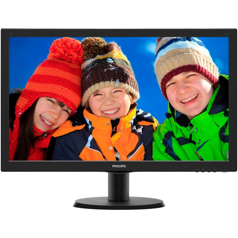 Monitor 243V5LHAB/00 23.6 inch 5ms LED Black thumbnail