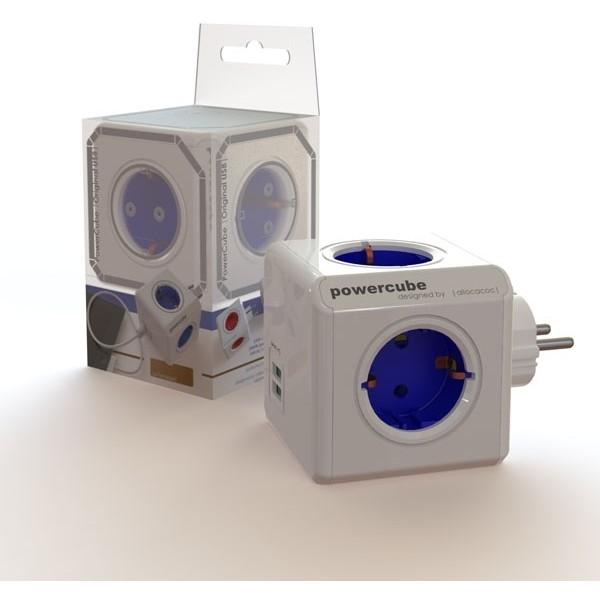 Fisa sub forma de cub 4 prize Albastru