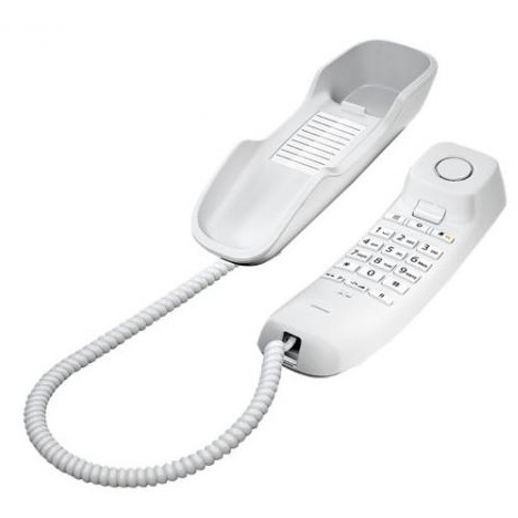 Telefon fix DA210 cu fir Alb thumbnail