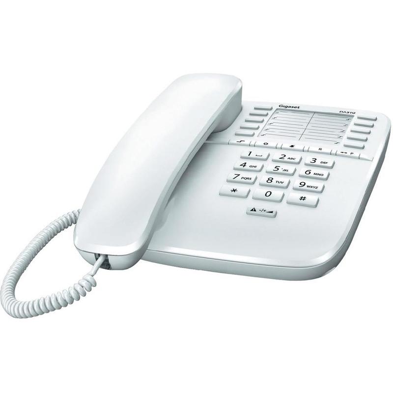 Telefon fix DA510 cu fir Alb thumbnail