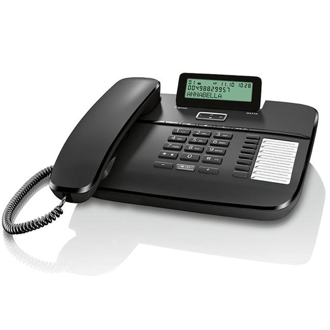 Telefon Fix Da710 Cu Fir Negru