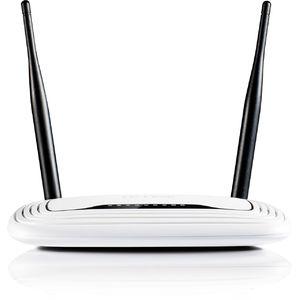 Router wireless TP-Link TL-WR841N Frecventa 2.4 GHz 2 Antene Viteza de transfer Wireless 300Mbps Control Parental Alb