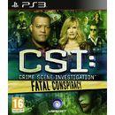 CSI 6 FATAL CONSPIRACY - PS3