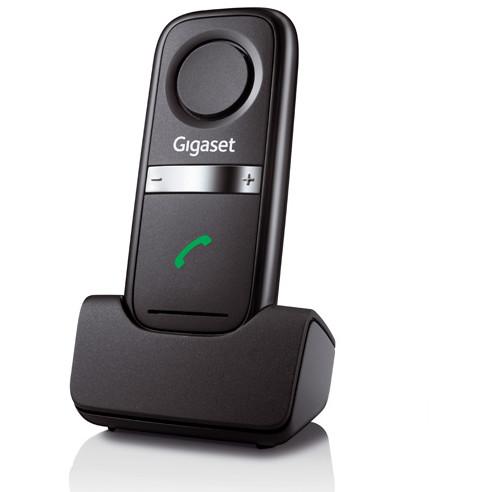Telefon fix L410 Archimedes clip maini libere Negru thumbnail