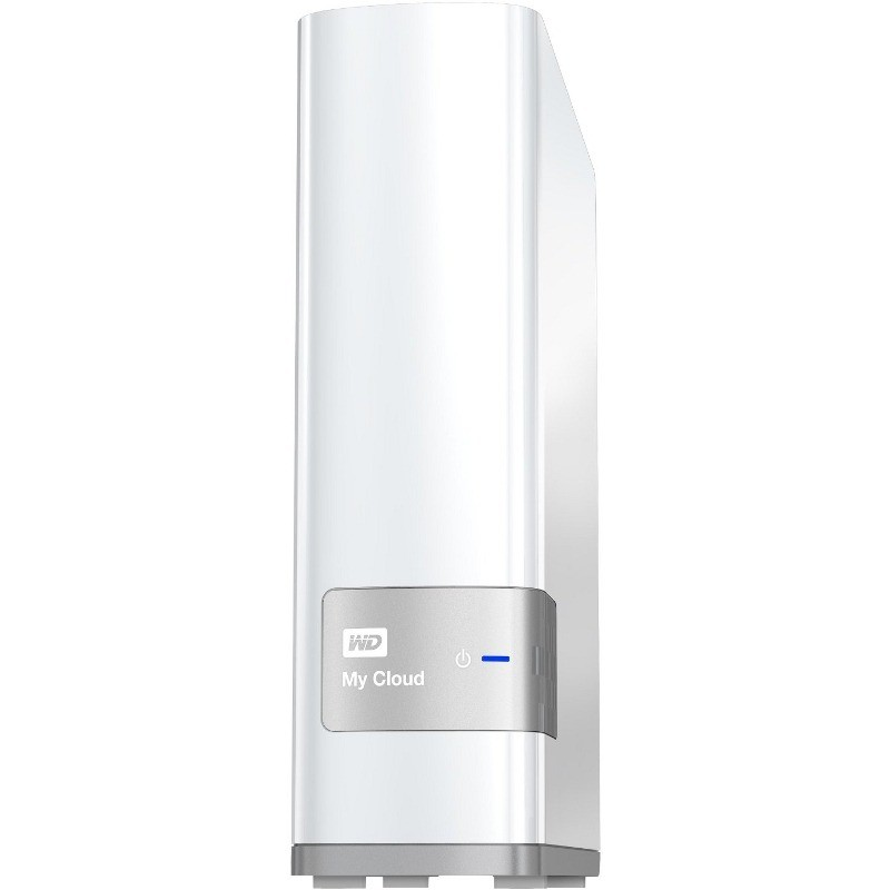 Network Attached Storage My Cloud 4tb White