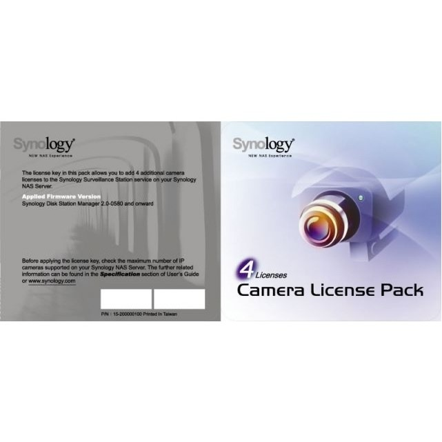 Accesorii supraveghere License Pack 4 thumbnail