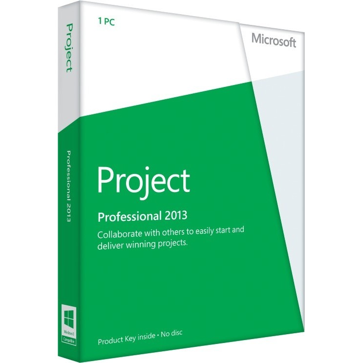 Project Professional 2013 32/64-bit Romana Medialess - Fpp