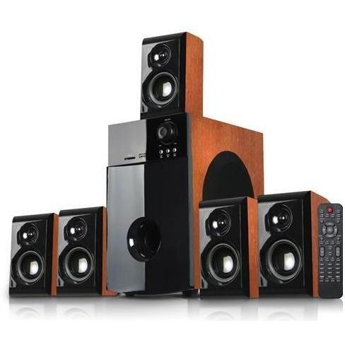 Sistem Audio 5.1 Soundboost Ht5100c Cherry Wood