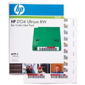 Consumabil HP Pachet de etichete cu cod de bare LTO4 Ultrium RW