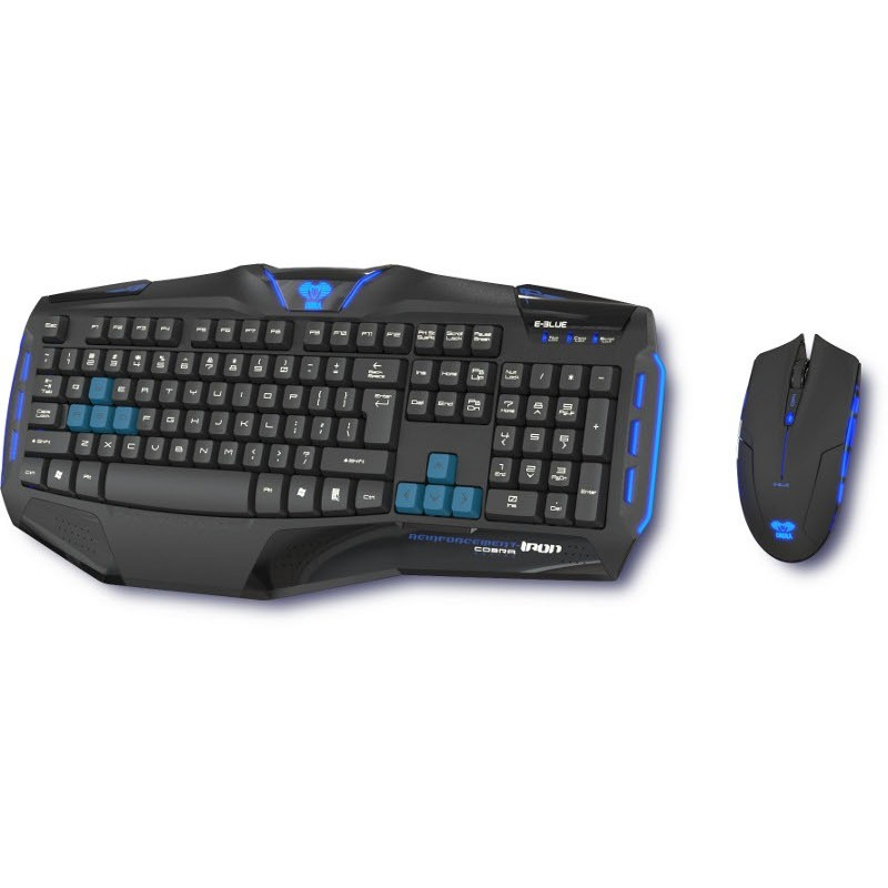 Kit tastatura si mouse Cobra Reinforcement - Iron Professional thumbnail
