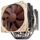 Cooler procesor Noctua NH-D14 900/1200RPM 2 ventilatoare silentioase Design Asimetric