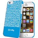 Clove185Bl Hidden Message albastra pentru Apple iPhone 5 / 5S