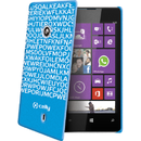 Clove321Bl Hidden Message albastra pentru Nokia Lumia 520