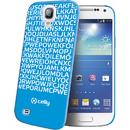 Clove332Bl Hidden Message albastra pentru Samsung Galaxy S4 Mini I9190