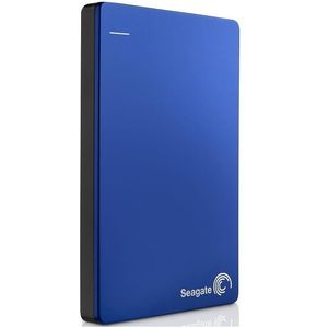 Hard disk extern Seagate Backup Plus Slim Portable 2TB 2.5 inch USB 3.0 Blue