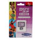 MicroSDHC 4GB cu adaptor