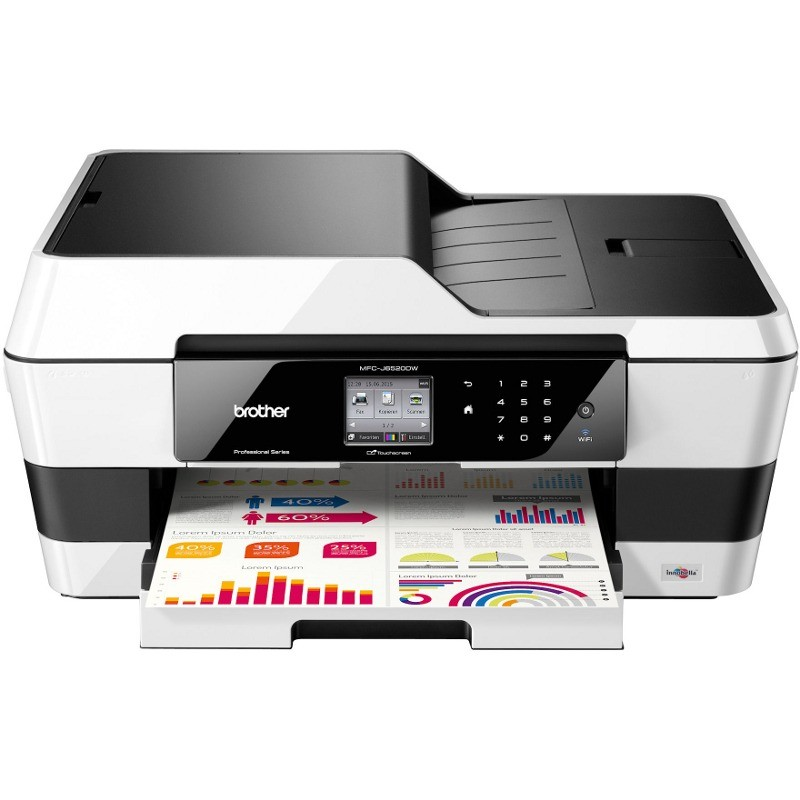 Multifunctionala Inkjet Mfc-j6520dw A3 Color Wi-fi Duplex