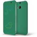Dot Flip green pentru ONE M8