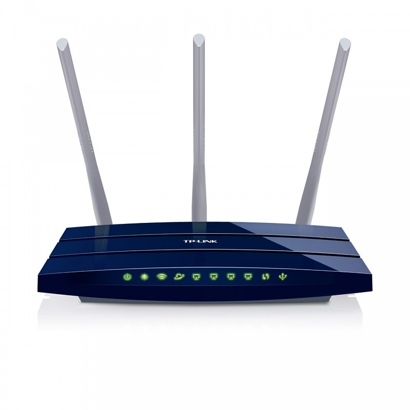 Router Wireless Tl-wr1043nd 300mbps Gigabit 3 Antene Detasabile