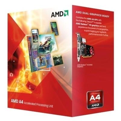 Procesor Vision A4-6320 Fm2 3.8ghz Box