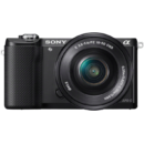 Aparat foto Mirrorless Sony Alpha A5000 20.1 Mpx Black Kit SEL 16-50mm
