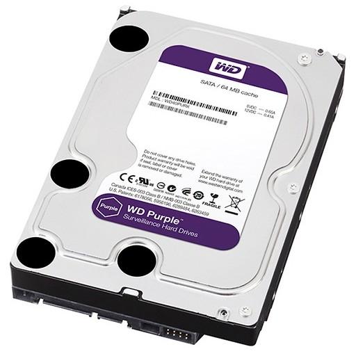 Hard Disk Wd10purx Purple 1 Tb Sata 3 3.5 Inch 64mb Cache