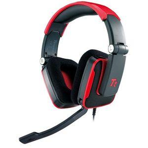Casti gaming Thermaltake Over-Head Tt eSPORTS Shock Blasting Red