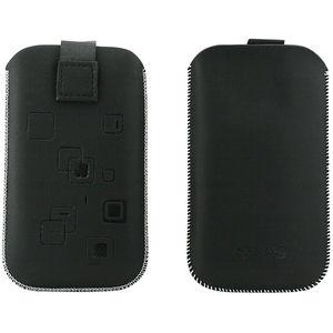 Toc OEM TSSAMGS2NEG Slim negru pentru Samsung Galaxy S2 / S / S Plus