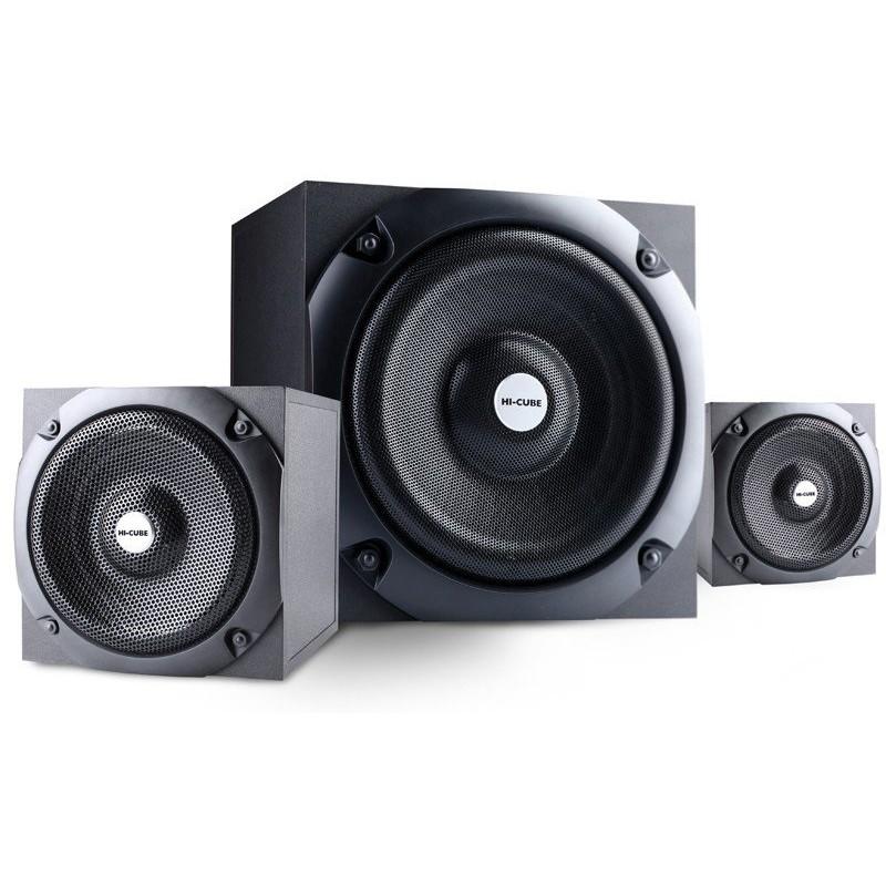 Sistem Audio 2.1 Trg-495 Hi-cube Black