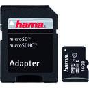 Micro SDHC 16GB cu adaptor