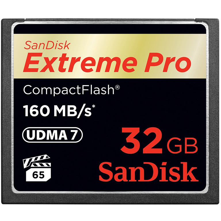 Card Compact Flash Extreme Pro 160mbs 32gb