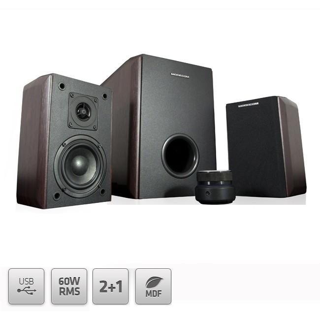 Sistem Audio 2.1 Mc-mhf60u Brown