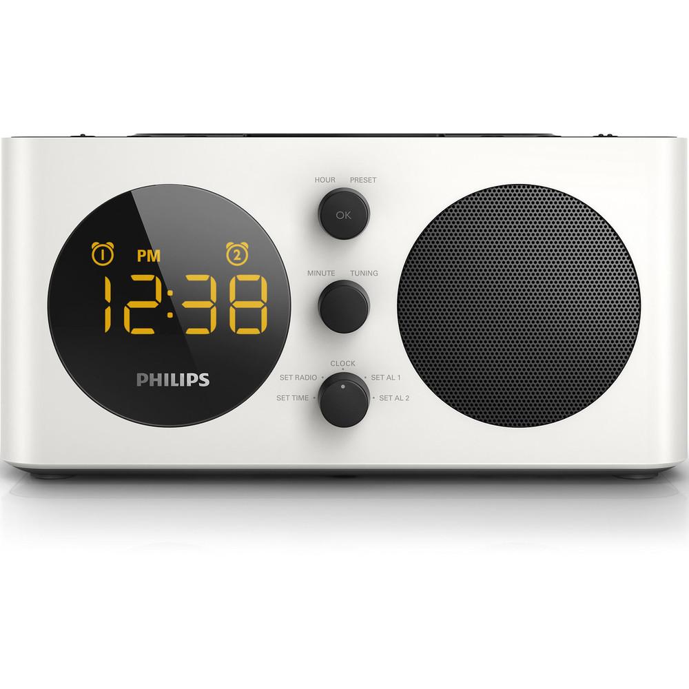 Radio Cu Ceas Aj6000/12 Silver