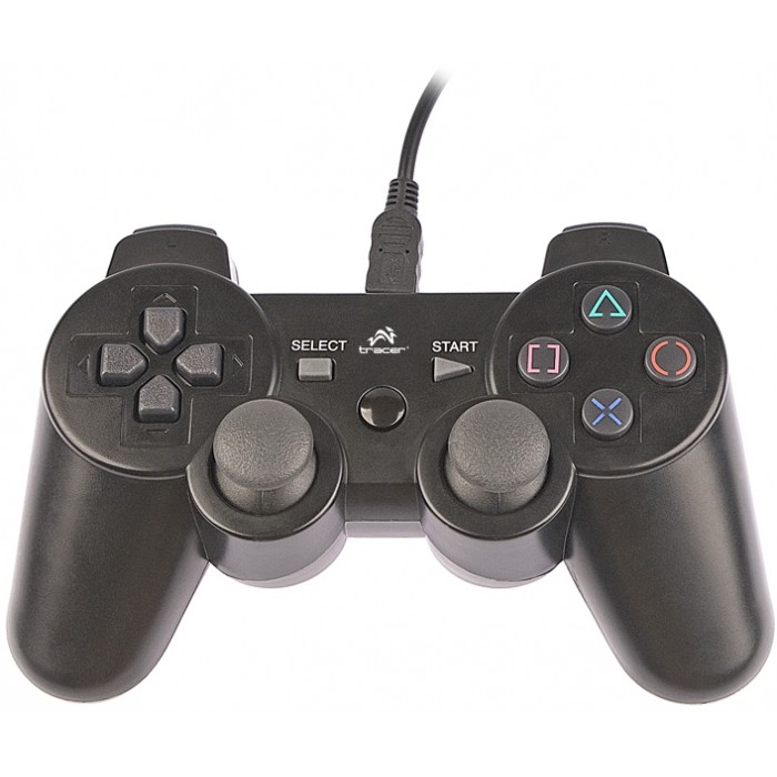 Gamepad Shogun TRJ-208 USB Black thumbnail