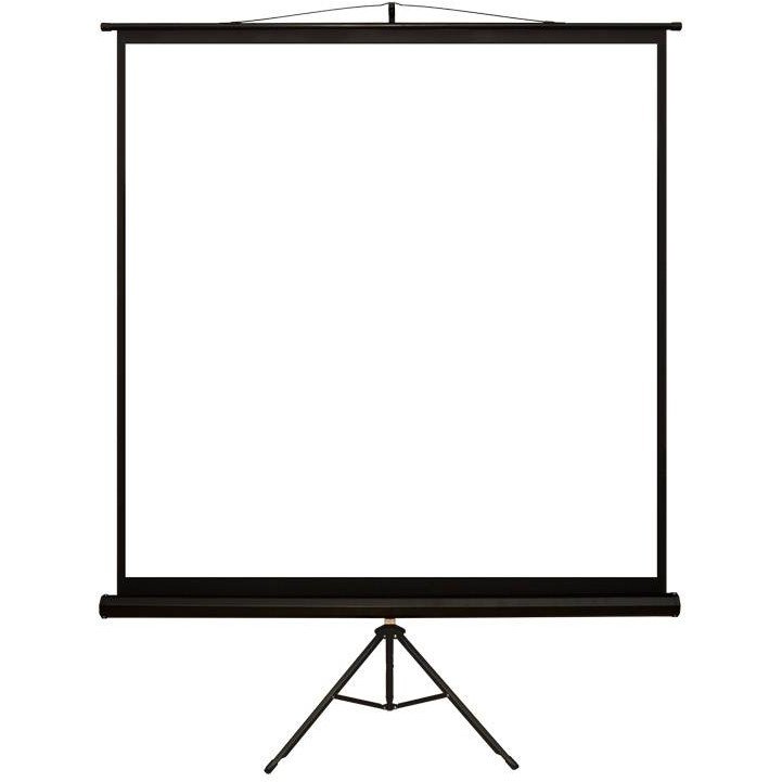 Ecran De Proiectie Cu Suport 152 X 152 Cm Format 1:1 Alb Mat