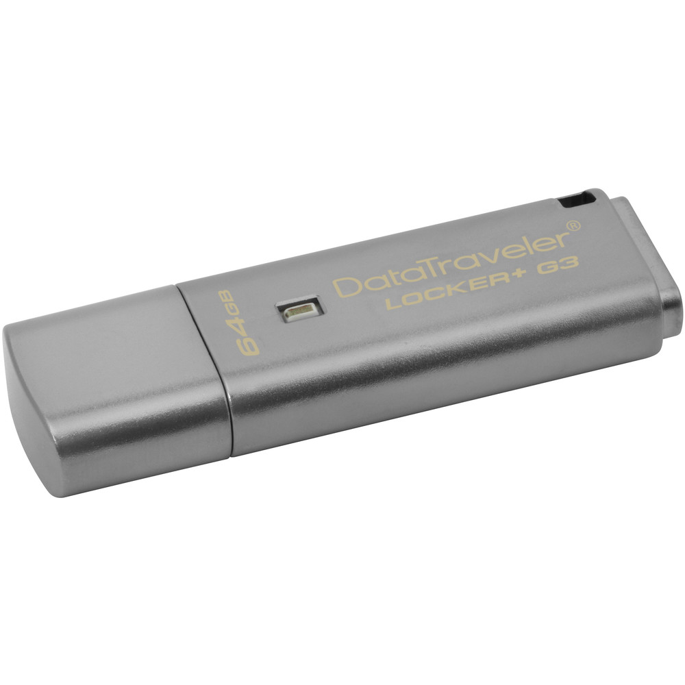 Memorie USB DataTraveler Locker+ G3 64GB USB 3.0 thumbnail